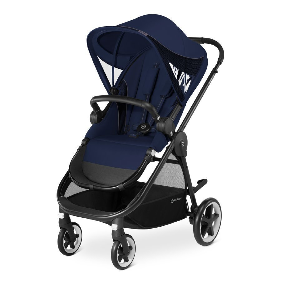 Cybex Gold Iris M Air Midnight Blue Navy Blue Lastenrattaat