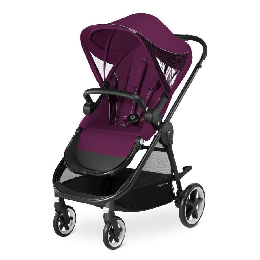 Cybex Gold Iris M Air Mystic Pink Purple Lastenrattaat