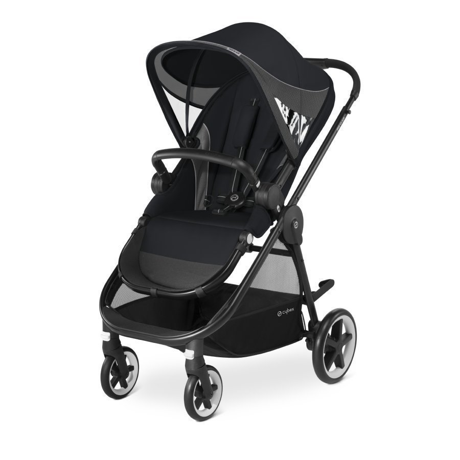 Cybex Gold Iris M Air Stardust Black Black Lastenrattaat