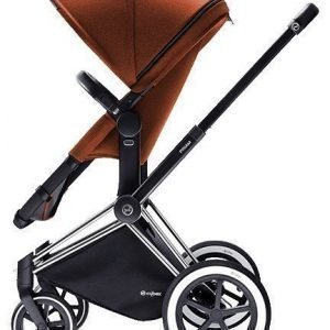 Cybex Priam 2016 2-in-1 vaunut Chrome runko/All Terrain Autumn Gold Paketti