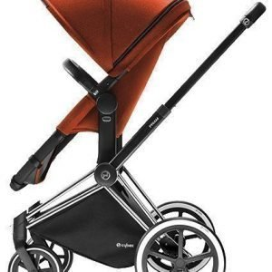 Cybex Priam 2016 2-in-1 vaunut Chrome runko/Trekking Autumn Gold Paketti
