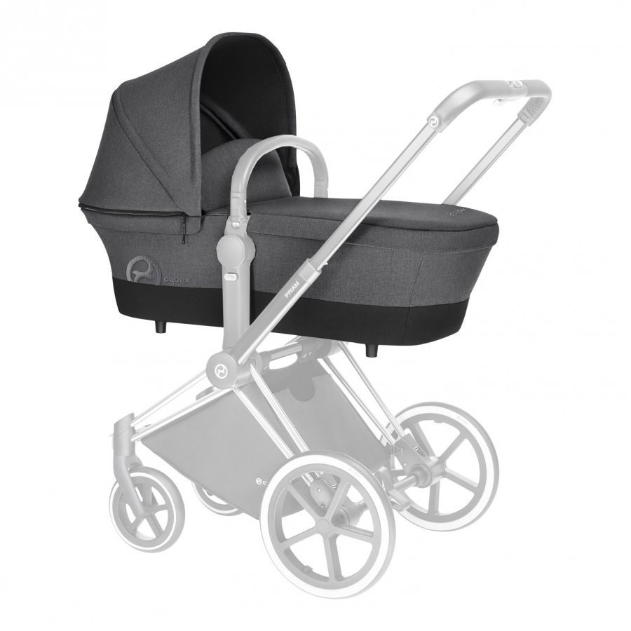 Cybex Priam Carry Cot Manhattan Grey 2017 Yhdistelmävaunut
