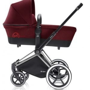 Cybex Priam Lastenvaunut Runko All Terrain Chrome/Infra Red