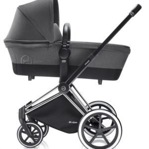 Cybex Priam Lastenvaunut Runko All Terrain Chrome/Manhattan Grey