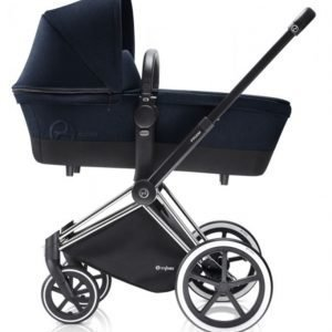 Cybex Priam Lastenvaunut Runko All Terrain Chrome/Midnight Blue