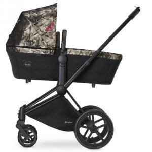 Cybex Priam Lastenvaunut Runko All Terrain Matt Black/Butterfly
