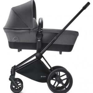 Cybex Priam Lastenvaunut Runko All Terrain Matt Black/Manhattan Grey