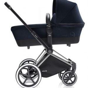 Cybex Priam Lastenvaunut Runko Trekking Chrome/Midnight Blue