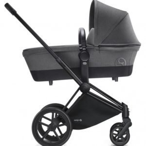 Cybex Priam Lastenvaunut Runko Trekking Matt Black/Manhattan Grey