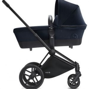 Cybex Priam Lastenvaunut Runko Trekking Matt Black/Midnight Blue