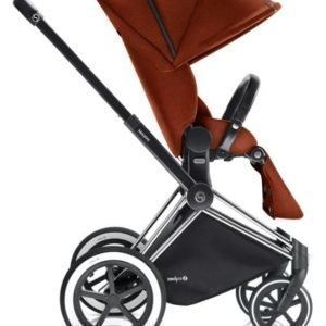 Cybex Priam Rattaat Runko All Terrain Chrome/Autumn Gold