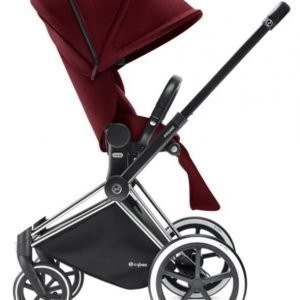 Cybex Priam Rattaat Runko All Terrain Chrome/Infra Red
