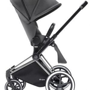 Cybex Priam Rattaat Runko All Terrain Chrome/Manhattan Grey
