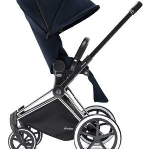 Cybex Priam Rattaat Runko All Terrain Chrome/Midnight Blue