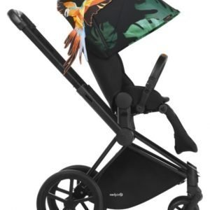 Cybex Priam Rattaat Runko All Terrain Matt Black/Birds of Paradise