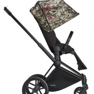 Cybex Priam Rattaat Runko All Terrain Matt Black/Butterfly