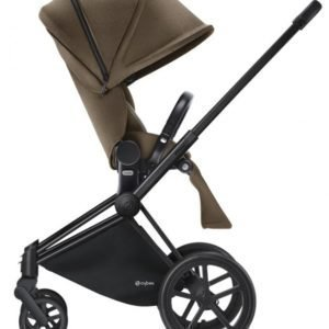 Cybex Priam Rattaat Runko All Terrain Matt Black/Cashmere Beige