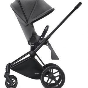 Cybex Priam Rattaat Runko All Terrain Matt Black/Manhattan Grey