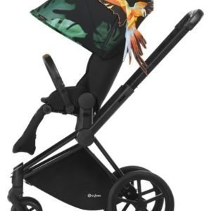 Cybex Priam Rattaat Runko Trekking Matt Black/Birds of Paradise