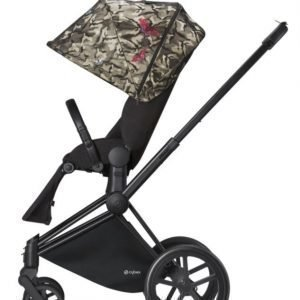 Cybex Priam Rattaat Runko Trekking Matt Black/Butterfly