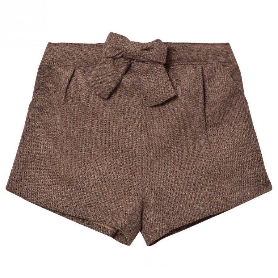 Cyrillus Bubble Shorts Taupe Marl Juhlashortsit