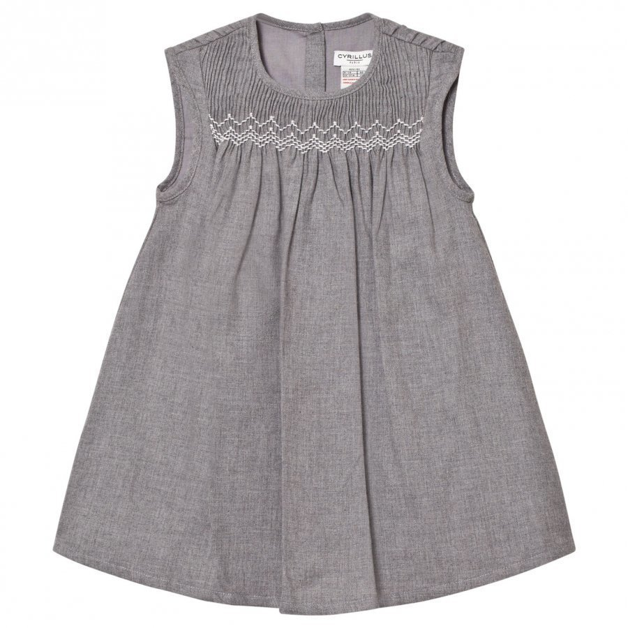 Cyrillus Grey Marl Flannel Dress Mekko