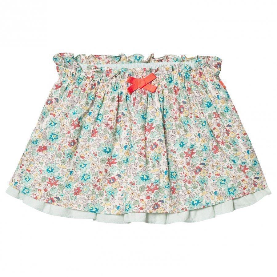 Cyrillus Multi Floral Liberty Print Skirt Lyhyt Hame