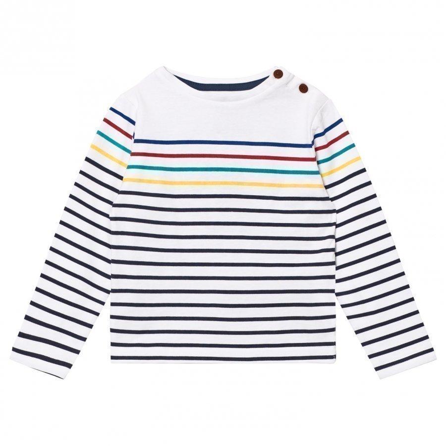 Cyrillus Multi Stripe Long Sleeve Tee Pitkähihainen T-Paita