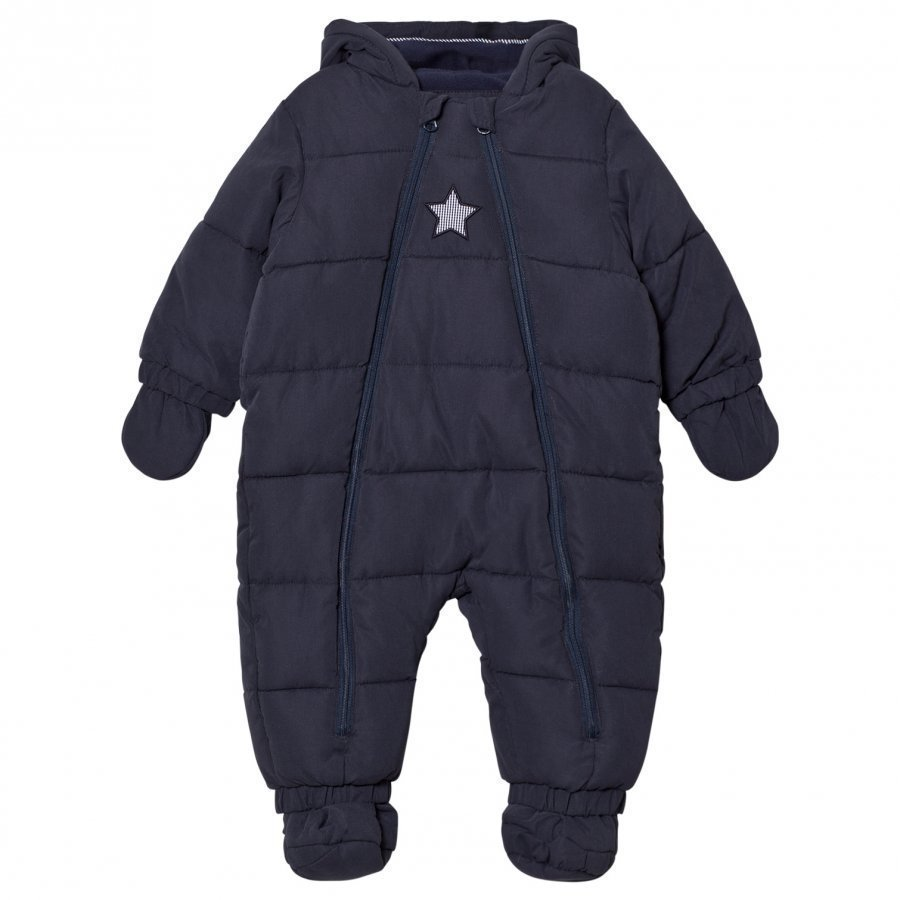Cyrillus Navy Hooded Coverall Toppahaalari