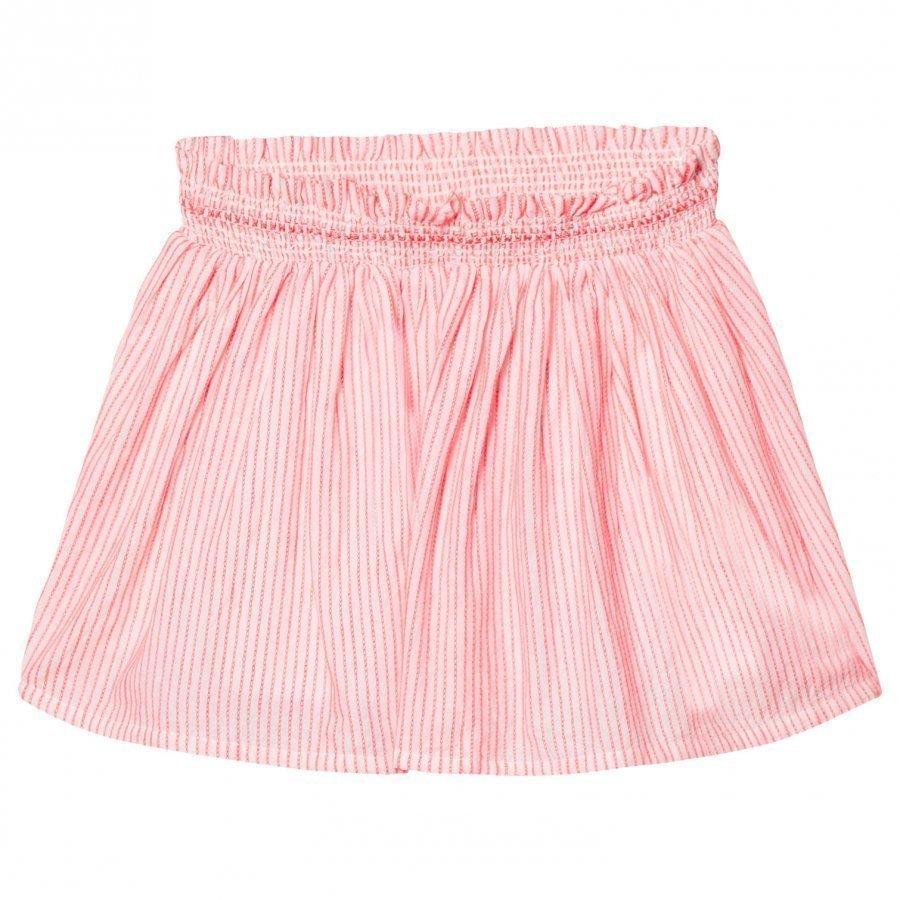 Cyrillus Neon Pink Skirt Lyhyt Hame