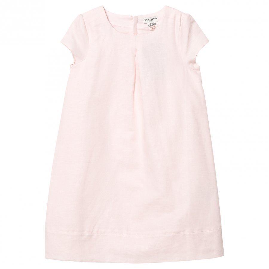 Cyrillus Pink Cotton-Linen Sun Dress Mekko