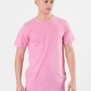 D-Xel Tee Ss T-Paita Vaaleanpunainen