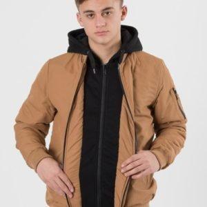 D-Xel Vern 041 Jacket Takki Ruskea