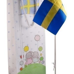 Dacapo Kastelipputanko Vi flaggar för Hopea