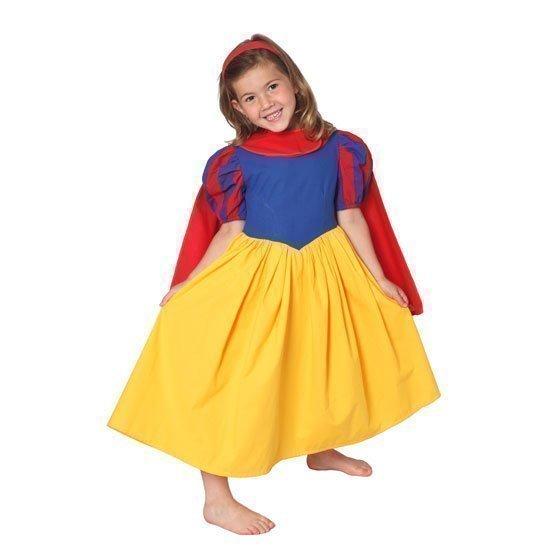 Den Goda Fen Lumikin mekko sekä viitta koko 110
