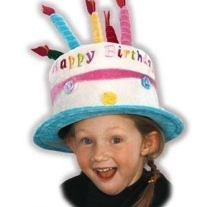 Den Goda Fen syntymäpäivähattu kakku