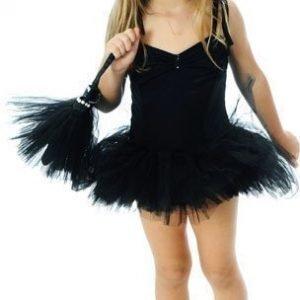 Den goda fen Balettipuku Musta Small