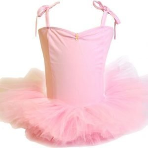 Den goda fen Balettipuku Vaaleanpunainen Small