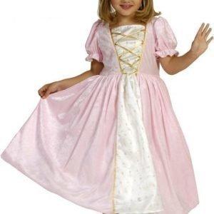 Den goda fen Prinsessamekko Vaaleanpunaista samettia Large