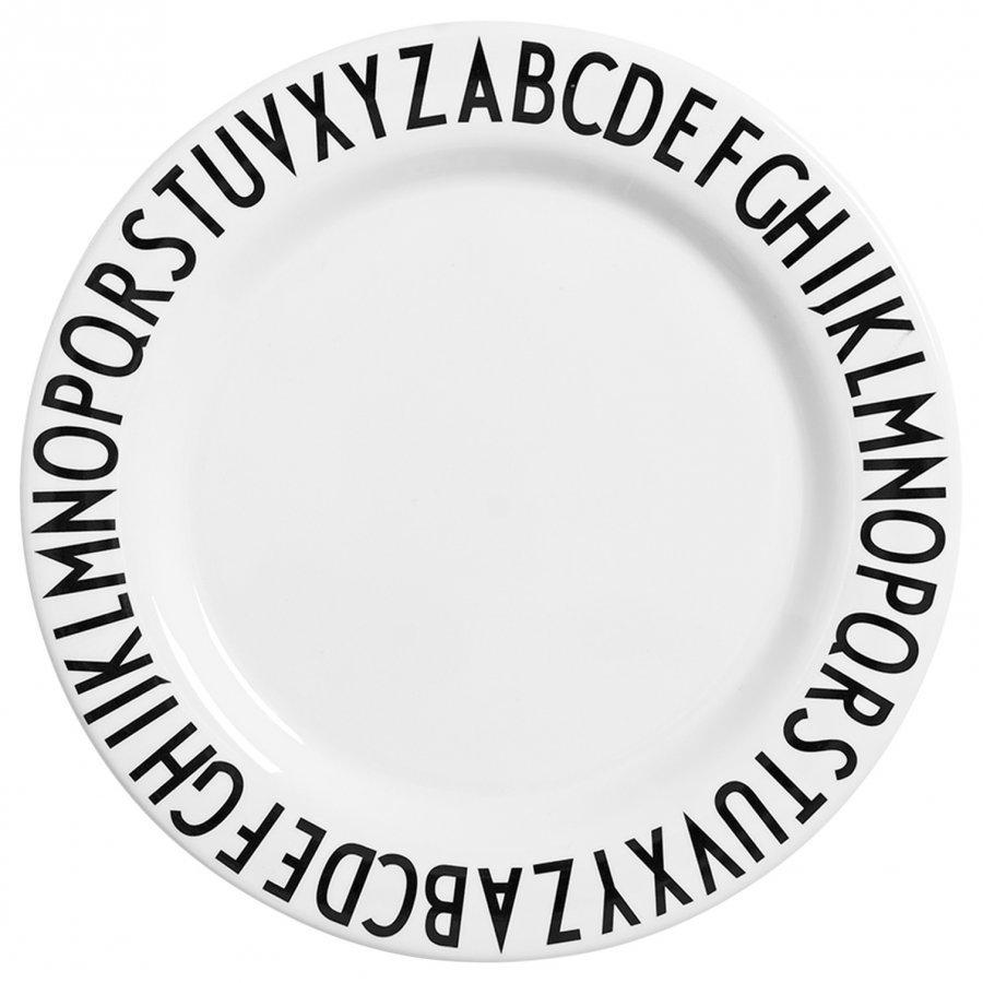 Design Letters Aj Large Melamin Dinner Plate Lautanen