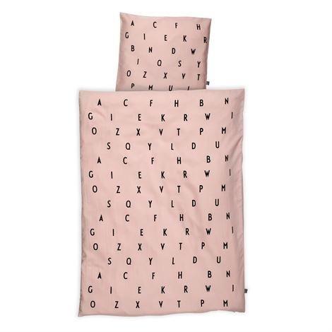 Design Letters Aj Vintage Vuodevaatesetti Baby Vaaleanpunainen