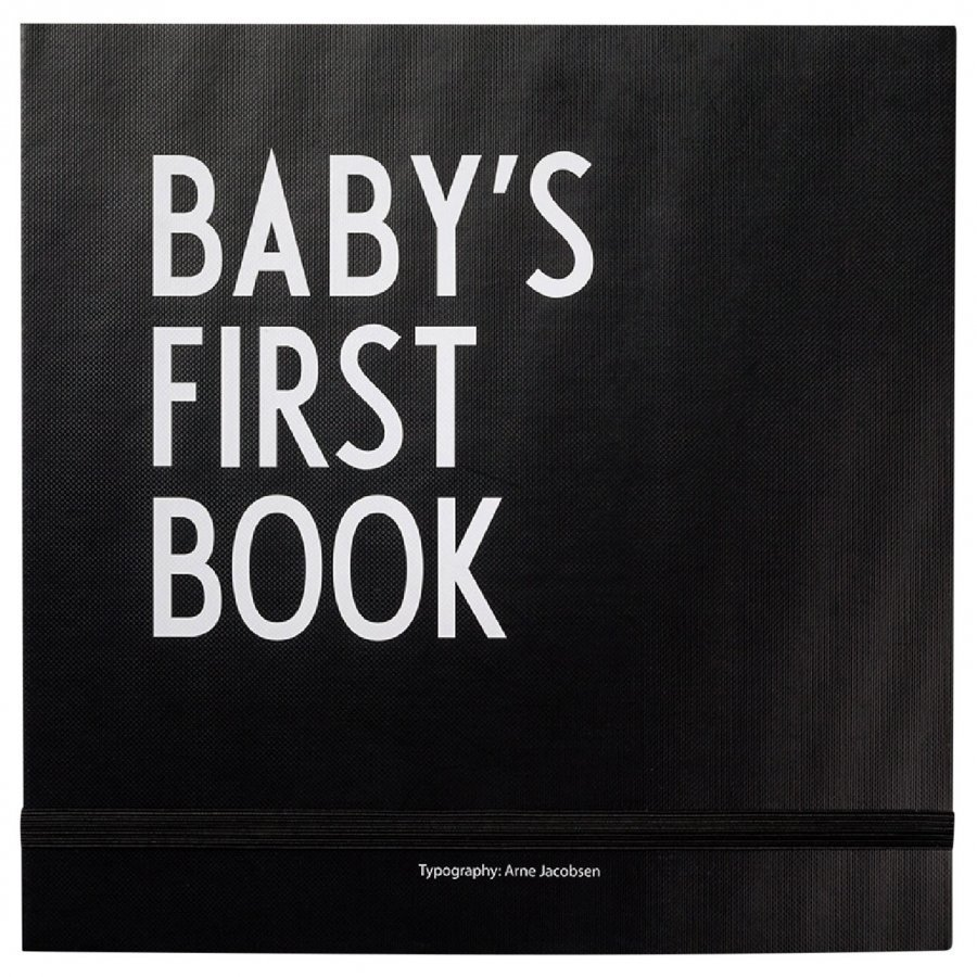 Design Letters Baby´S First Book Black Kirja