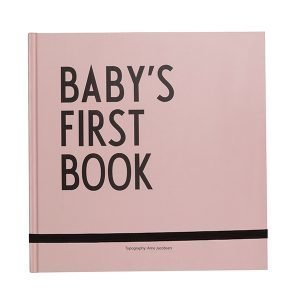 Design Letters Baby's First Book Kirja Pinkki