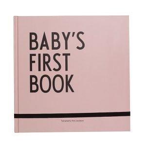 Design Letters Baby's First Book Kirja Pinkki
