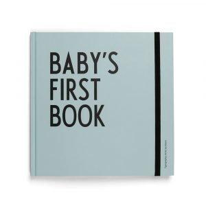 Design Letters Baby's First Book Kirja Turkoosi
