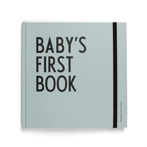 Design Letters Baby's First Book Kirja Turkoosi