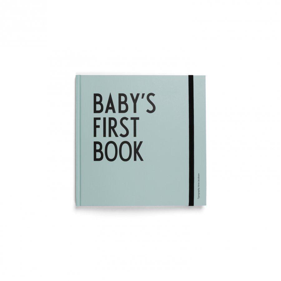 Design Letters Baby's First Book Turkoosi Aktiviteettikirja