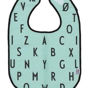 Design Letters Bib Ruokalappu