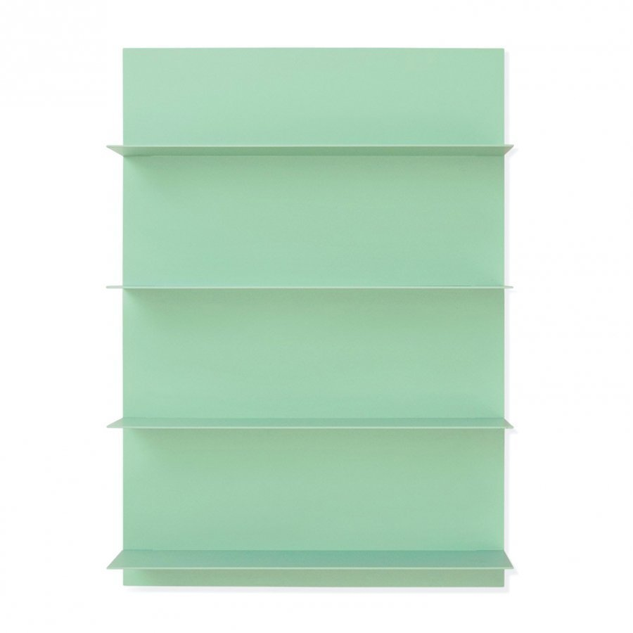 Design Letters Green Paper Shelf A2 Hylly