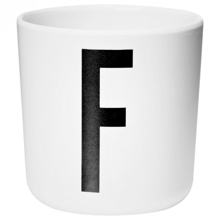 Design Letters Melamine Cup F Nokkamuki